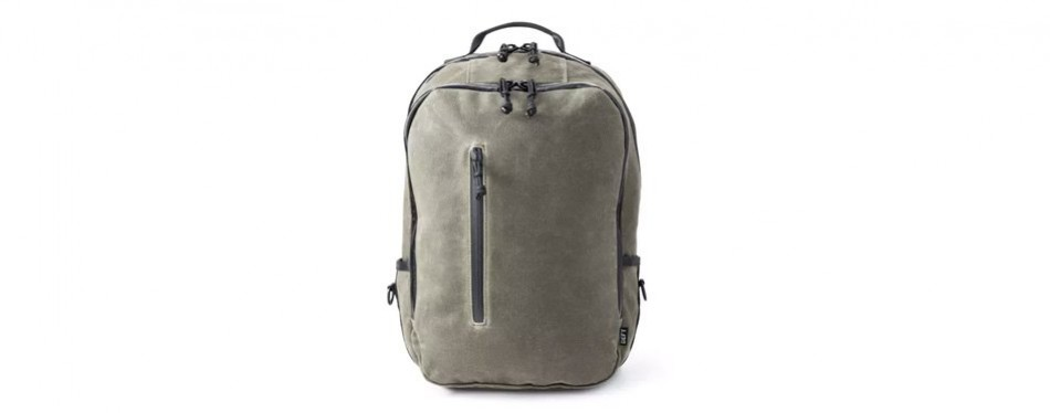 defy bucktown waxed canvas backpack