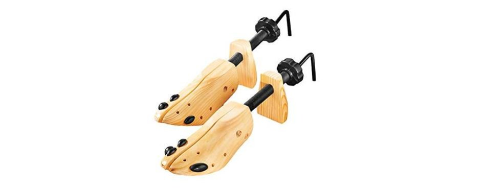 deluxe wood shoe stretchers