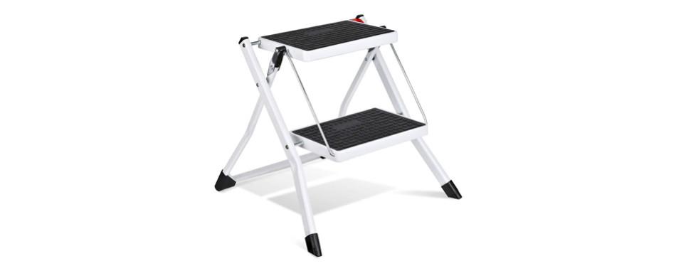 delxo 2 step stool stepladders