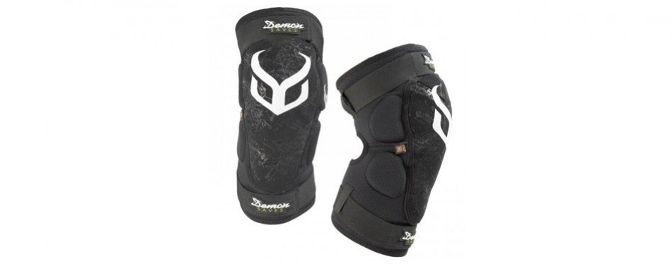 demon hyper x d30 mountain bike knee pads