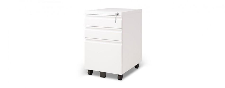 devaise metal file cabinet on wheels