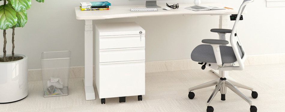 devaise metal file cabinet on wheels