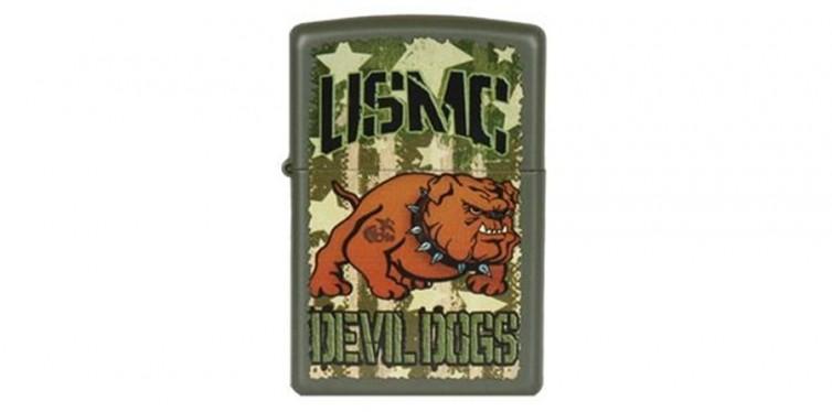 Devil Dawg-USMC Bulldog Zippo Lighter