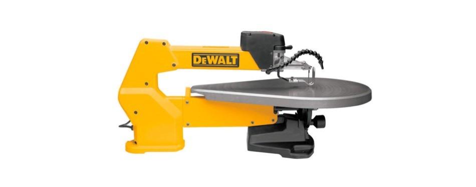 dewalt 20-inch variable-speed scroll saw