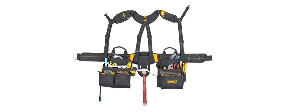 dewalt 20-pocket pro apron tool belt