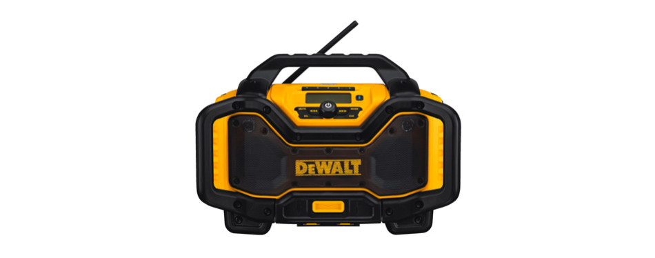 dewalt 20v max bluetooth jobsite radio