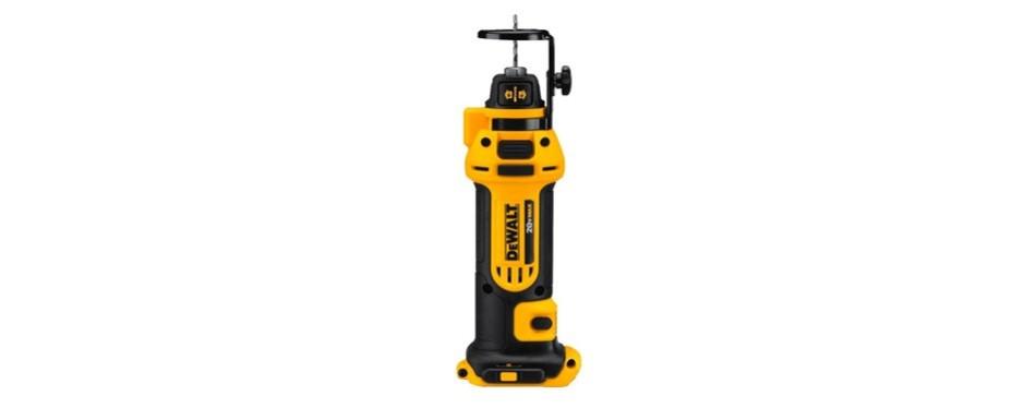 dewalt 20v max drywall cut out tool