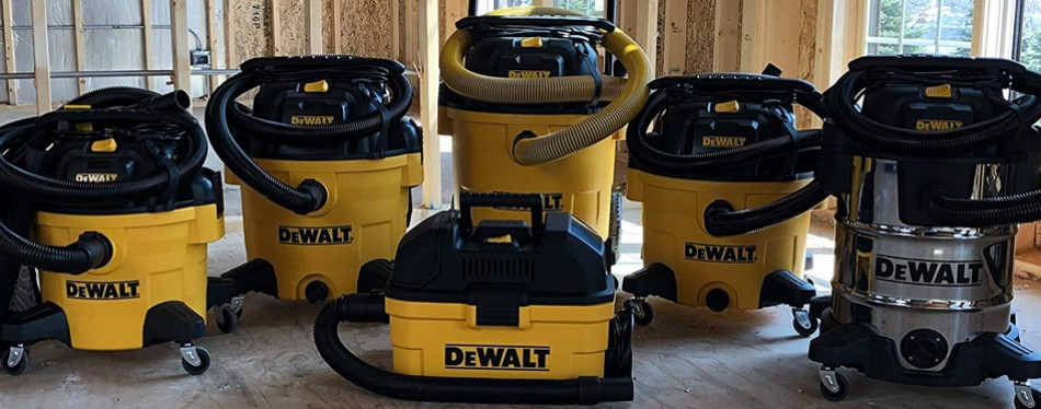 dewalt 6 gallon poly wet/dry vac