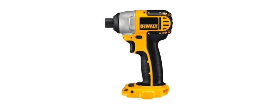 dewalt dc825d 1/4 inch 18-volt cordless impact wrench
