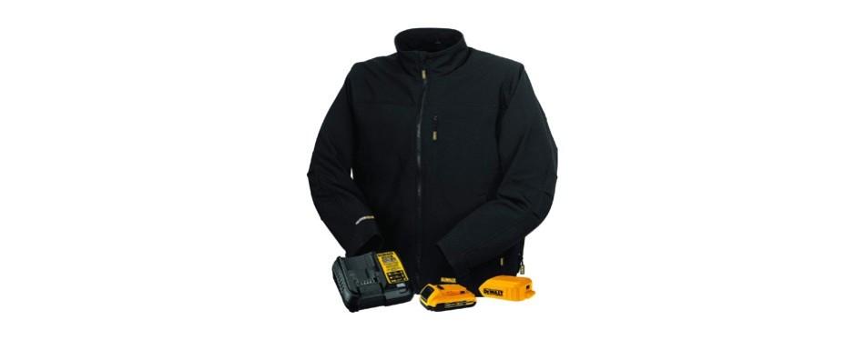 dewalt dchj060abd1-2x heated soft shell jacket