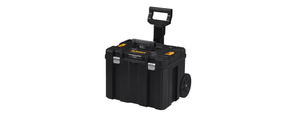 dewalt deep box on wheels mobile storage