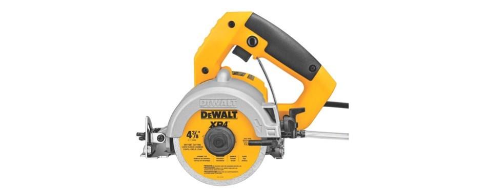 dewalt dwc860w wet dry masonry saw