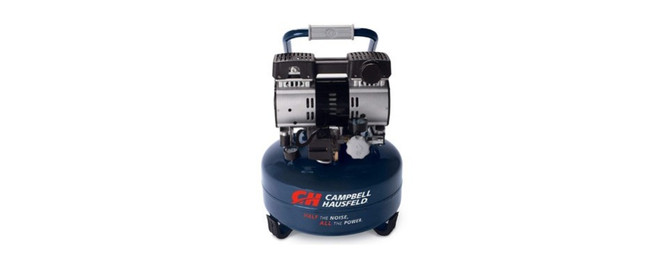 campbell hausfeld portable quiet air compressor