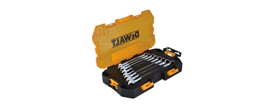 dewalt dwmt73810 metric combination wrench set