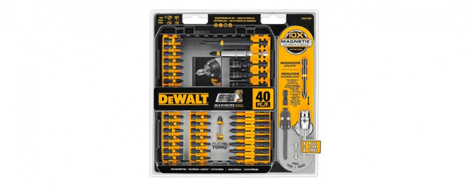 dewalt impact ready flextorq screw driving set