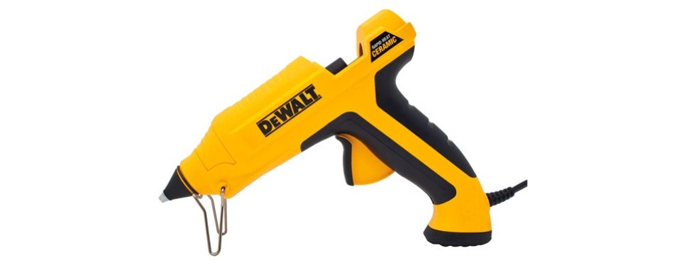 dewalt rapid heat ceramic glue gun