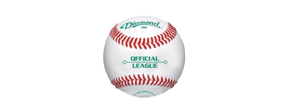 diamond official league dbx baseballs