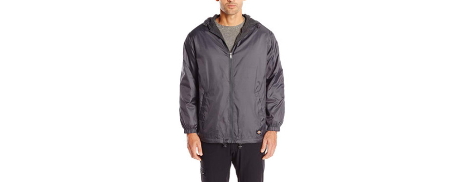 dickies fleece-lined hooded jacket