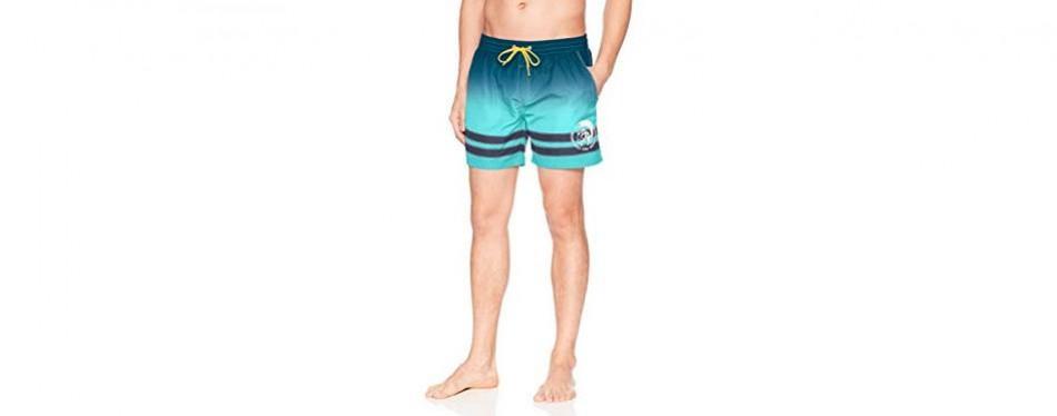 diesel men's caybay tyedye swimming trunk