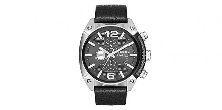 DZ4341 Diesel Leather Watch