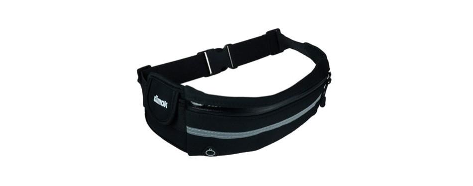 dimok running belt waist pack