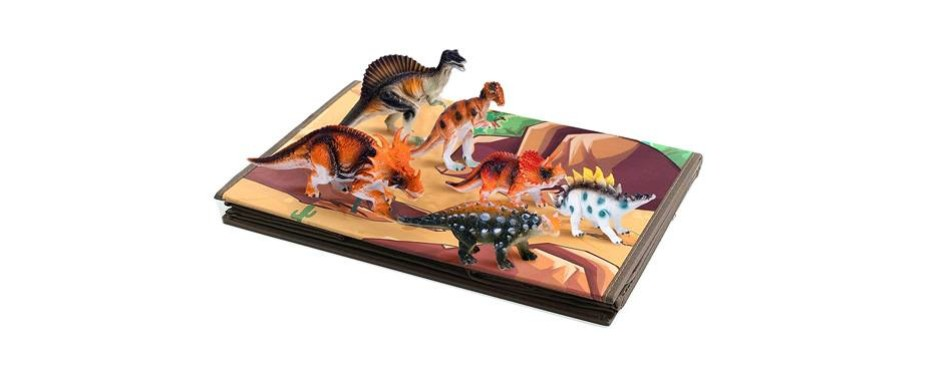 dinosaur toy chest storage box organizer