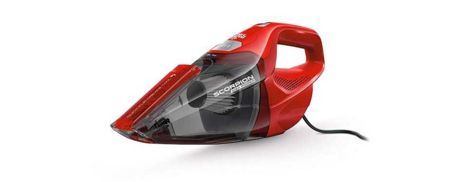 dirt devil scorpion quick flip corded handheld vacuum