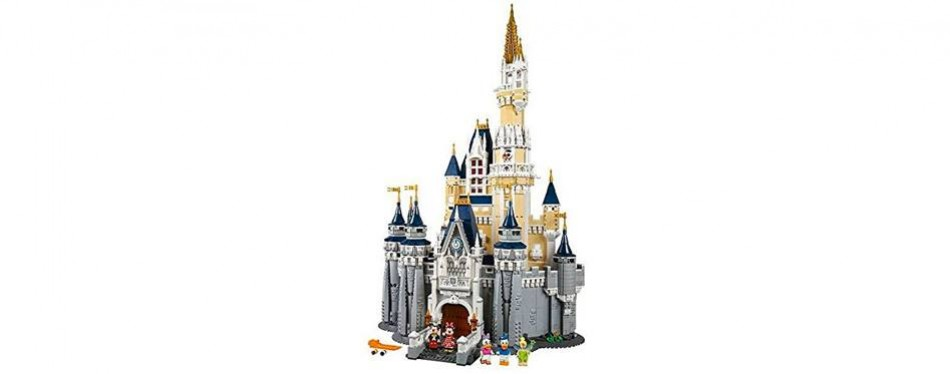 disney castle lego castle set