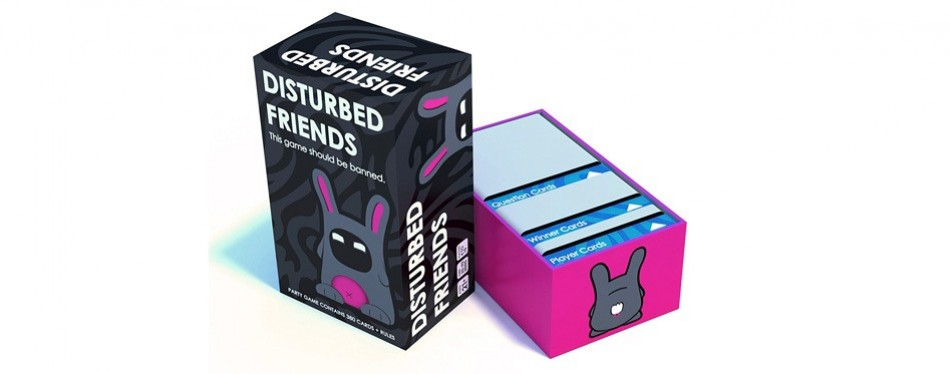 disturbed friends adult card game