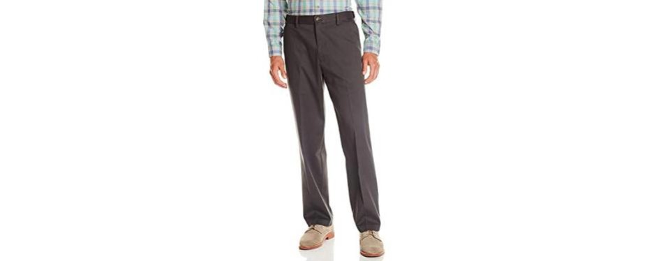 dockers men's relaxed fit comfort khaki pants d4