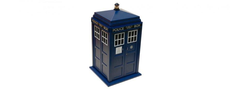 doctor who tardis cookie jar lights & sounds