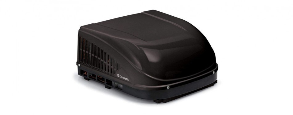 dometic brisk ii black air conditioner