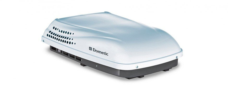 dometic penguin ii rooftop air conditioner (polar white)