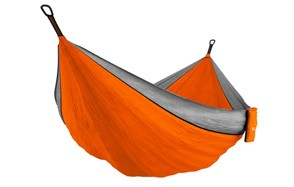 double portable camping hammock, by mallome