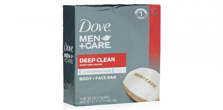dove men care body and face bar