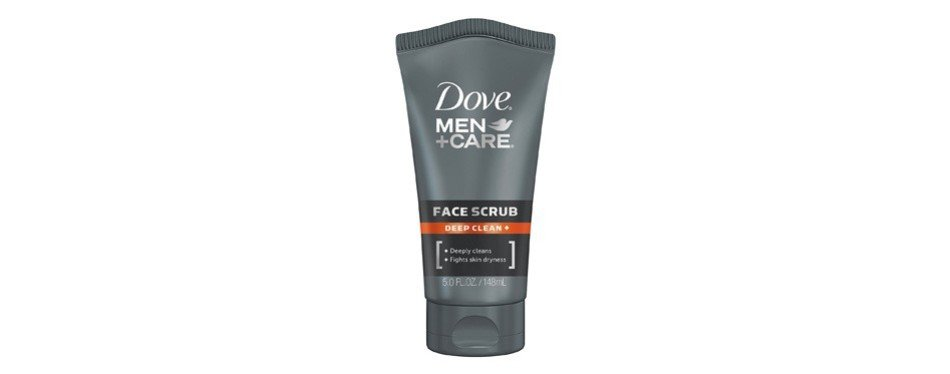 dove men care face scrub