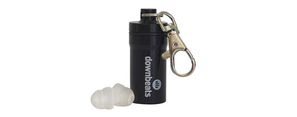 downbeats reusable ear plugs