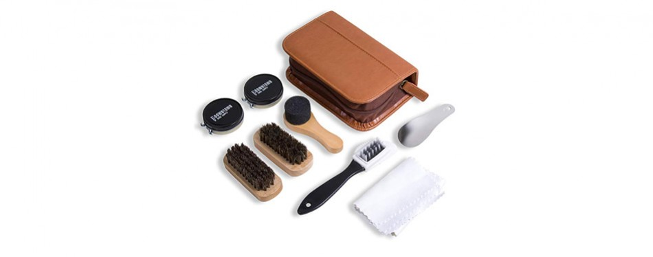 downtown supply shoe shine kit