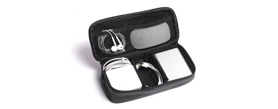 dpark pu electronics accessories case