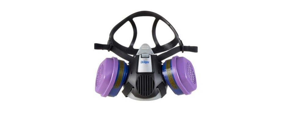 dräger x-plore 3500 half-face respirator mask
