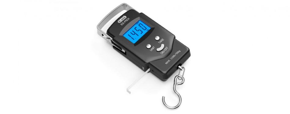 dr.meter electronic balance digital fishing postal hanging hook scale
