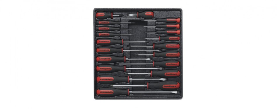 drake off road gear wrench 80066 20 piece master dual material screwdriver set