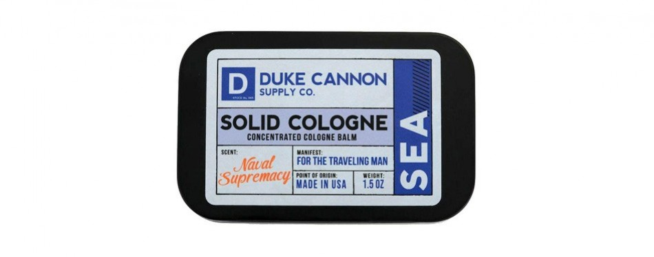 duke cannon's solid cologne