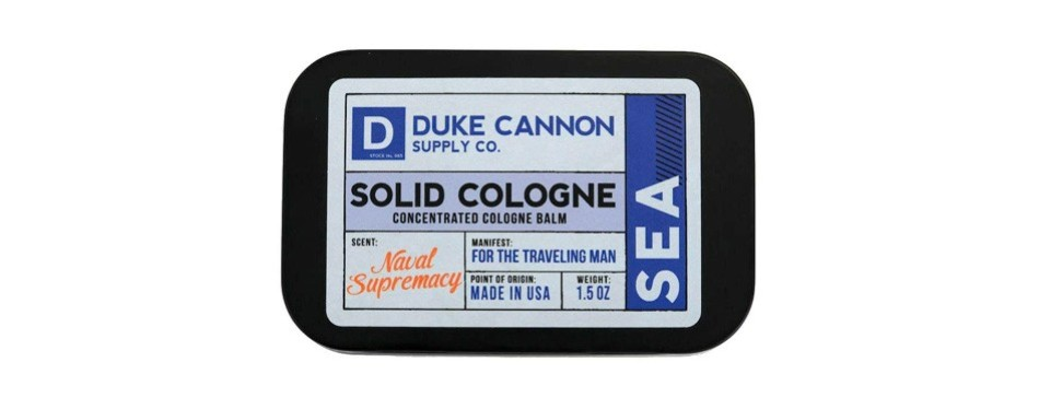duke cannon's solid cologne