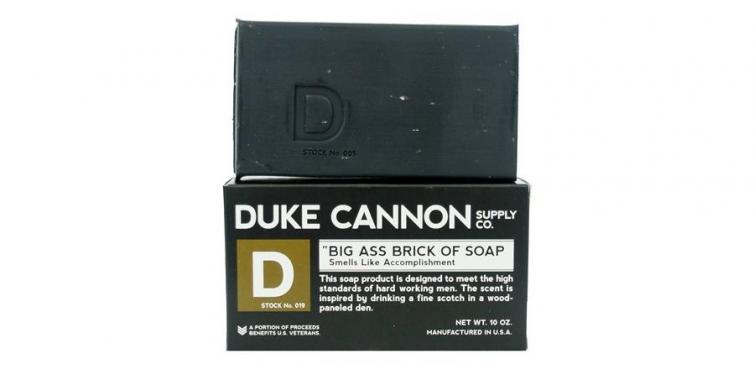 duke cannon big ass brick of soap