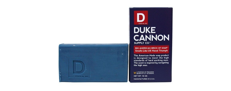 duke cannon men's bar soap