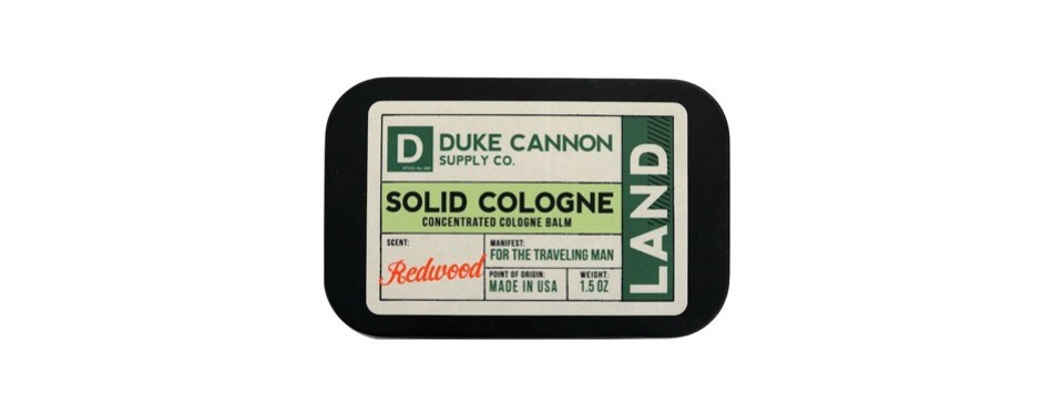 duke cannon men's solid cologne