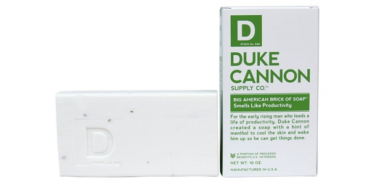 duke cannon mens bar soap
