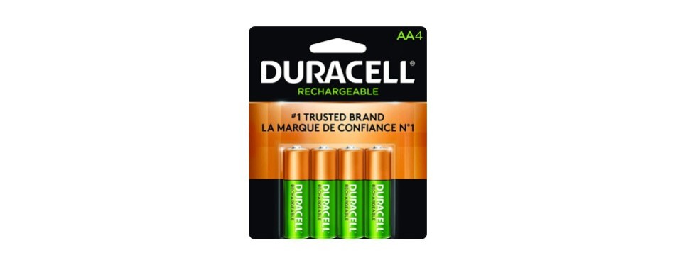 duracell aa nimh rechargeable blister pack
