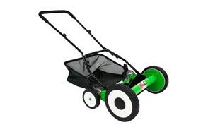 durostar 16-inch 5-blade height adjustable reel mower